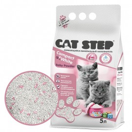 Cat Step Compact White Baby...