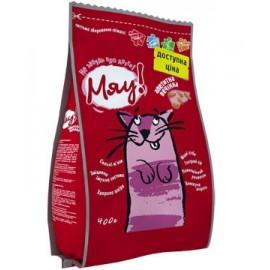 Сухой корм для кошек Мяу с печенью