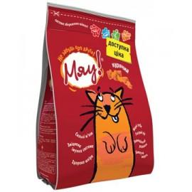 Сухой корм для кошек Мяу куриный