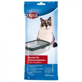 """4044 Пакеты сменные """"TRIXIE"""" для кошачьих туалетов, 46 x 59 см (10шт)"""