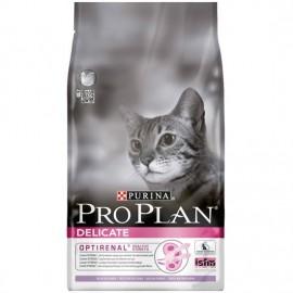 Pro Plan Delicate - для кошек с чувствительным пищеварением (индейка и рис)