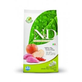 N&D Boar & Apple Adult Dog / Полнорационный беззерновой корм для взрослых собак мясо дикого кабана с яблоком.