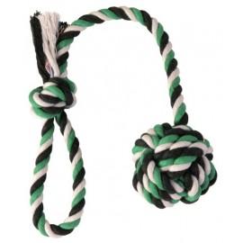 """3269 Игрушка """"TRIXIE"""" для собаки """"DENTAfun"""" в виде верёвки с узлом и ручкой 50см/7см"""