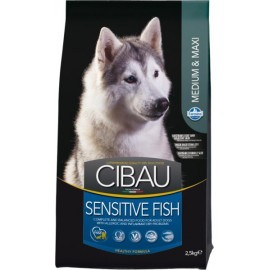 Эдалт рыба с рисом для мелких и средних пород /CIBAU FISH & RICE