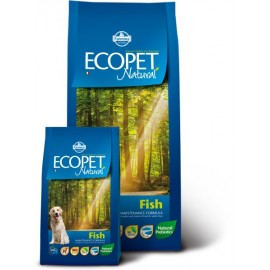 Медиум эдалт с рыбой экопет нэтчурал / ECOPET NATURAL FISH MINI