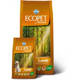 Макси эдалт с ягнёнком экопет нэтчурал / ECOPET NATURAL LAMB MAXI