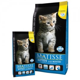 Для котят,беременных и кормящих кошек (мясо курицы 36%,рыба 6%) / MATISSE KITTEN 1-12 months
