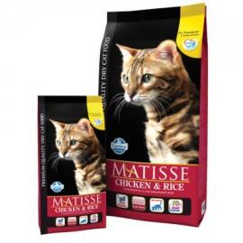 Для взрослых кошек курица & рис (мясо курицы 32%,рис 25%,рыба 6%) / MATISSE CHICKEN & RICE