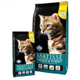 Для взрослых кошек курица & индейка (мясо курицы и индейки 32%,рыба 6 %) / MATISSE CHICKEN & TURKEY