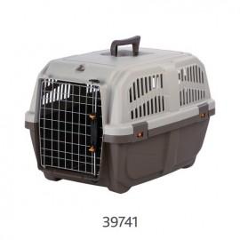 "39741 Переноска ""TRIXIE"" Skudo 3 для животных до 24 кг 40х39х60см, тёмно-коричневая/песочная"