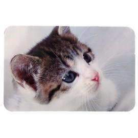 """24545 Коврик под миску """"TRIXIE"""" с фото кошки 43х28 см"""