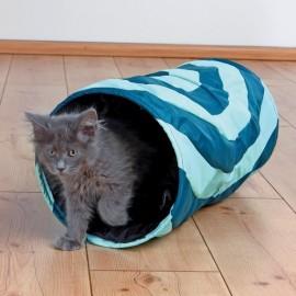 """4301 Тоннель """"TRIXIE"""" для кошек """"Crunch"""", нейлон, диам. 25*50см"""