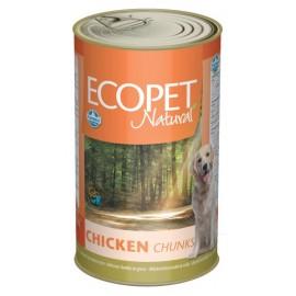 ECOPET NATURAL chicken / Кусочки в соусе с курицей, 1250г