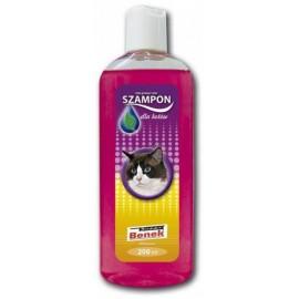 Шампунь для кошек Super Benek с экстрактом алое, ухаживающий), 200мл