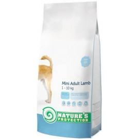 Nature's Protection Adult Mini Lamb - сухой корм для взрослых собак мелких пород с ягнёнком