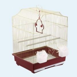A412Gold Клетка для птиц (35x28x47см)