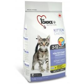 1st Choice Kitten Healthy Start - корм для котят от 2 до 12 месяцев (с цыпленком)