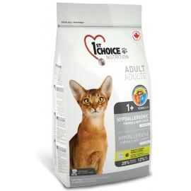 1st Choice Adult Hypoallergenic - корм для кошек с проблемами пищеварения