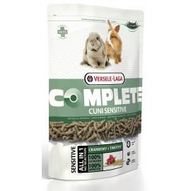 VERSELE-LAGA CUNI SENSITIVE COMPLETE - комплексный корм для кроликов с чувствительным пищеварением (упаковка 6 штук по 500г)