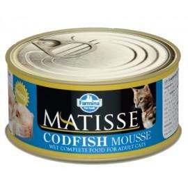 MATISSE CAT MOUSSE CODFISH / Мусс с треской, 85г