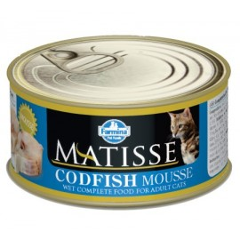 MATISSE CAT MOUSSE CODFISH / Мусс с треской, 85г