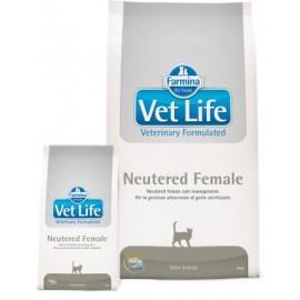 Farmina Vet Life Neutered Female / Полнорационное и сбалансированное питание для стерилизованных кошек
