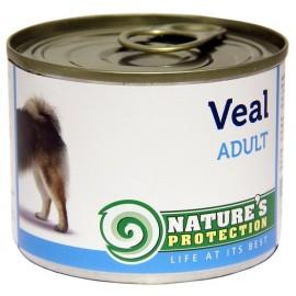 NP Dog Adult Veal - корм с телятиной для взрослых собак (упаковка 6 штук по 200г)
