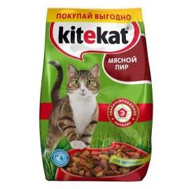"""Kitekat """"Мясной пир"""" - сухой корм для взрослых кошек"""