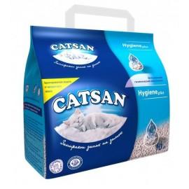 Catsan Впитывающий гигиенический наполнитель Hygiene plus, 10л