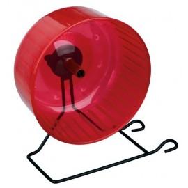 "60821 Колесо для грызунов ""TRIXIE"" на подставке,пластик, металл, диам.13,5см"