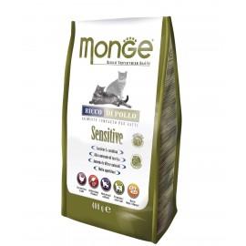 Monge Cat Sensitive - сухой корм для взрослых кошек с чувствительным пищеварением с курицей