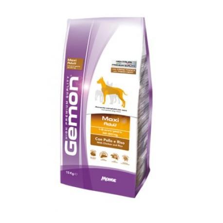 Gemon Dog Adult Maxi - сухой корм для взрослых собак крупных пород с курицей и рисом