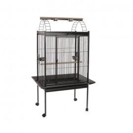 Вольер для птиц Voltrega 892, серый 100x75x156 см