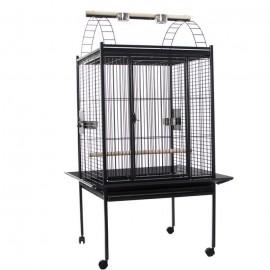 Вольер для птиц Voltrega 893, серый 100x79x170 см