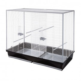 Вольер для птиц Voltrega 618, белый, 120x59x100 см
