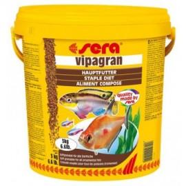 Sera Vipagran - основной мягкогранулированный корм, 10л (3кг)