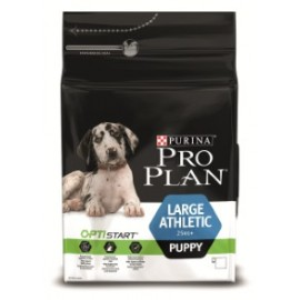 PRO PLAN LARGE PUPPY ATHLETIC с комплексом OPTISTART