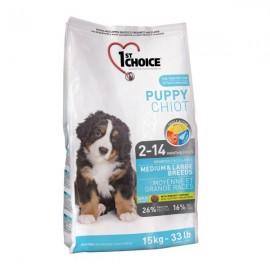 1st Choice Puppy Medium & Large Breeds - корм для щенков средних и крупных пород 2 - 14 месяцев
