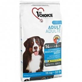 1st Choice Adult Medium & Large Breeds - корм для собак средних и крупных пород (курица)