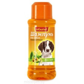 """Шампунь """"Amstrel"""" для собак кондиционирующий с липой и чередой, 320 мл"""