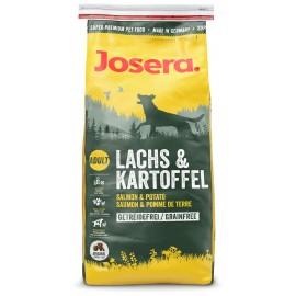 Josera Salmon&Potato (Adult) - беззерновой корм с лососем и картофелем для взрослых собак всех пород с аллергией на мясо птицы