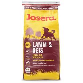 Josera Lamb&Rice (Adult) - корм с ягнёнком и рисом для взрослых собак всех пород с аллергией на мясо птицы