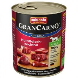 Gran Carno Fleisch Adult - мультимясной коктейль (упаковка 12 штук)
