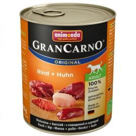 Gran Carno Fleisch Adult - с говядиной и курицей (упаковка 12 штук)