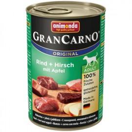 Gran Carno Fleisch Adult - с олениной и яблоком, 400г