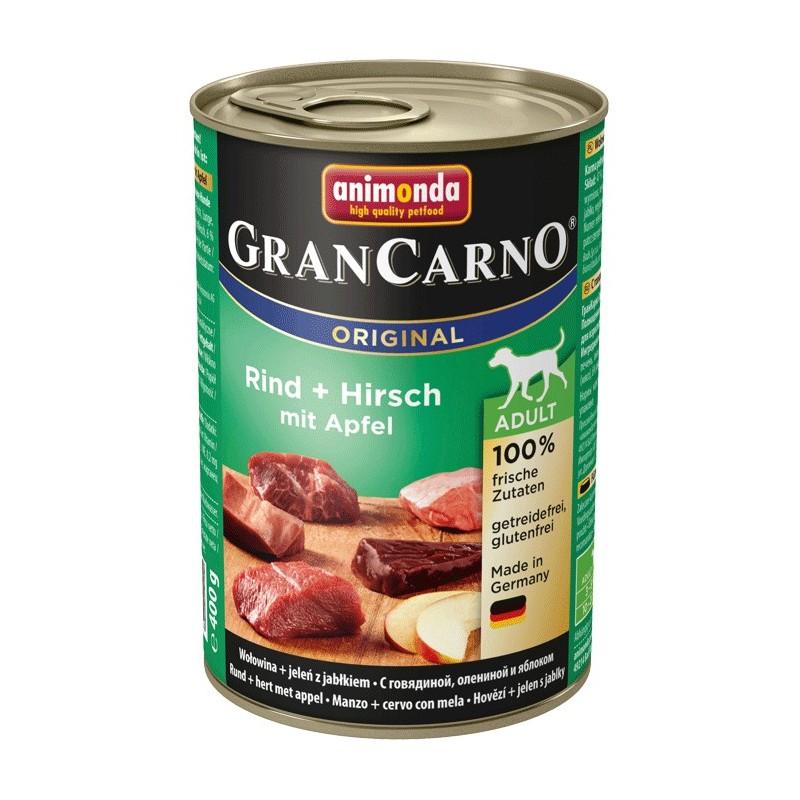 Корм Animonda Gran Carno Original Adult Говядина/Дичь 400g для собак 001/82736