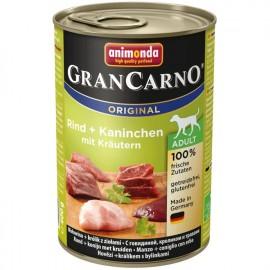 Animonda Gran Carno Fleisch Adult - с кроликом и травами, 400г