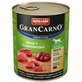 Gran Carno Fleisch Adult - с говядиной и седцем утки, 400г
