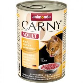 Carny Adult - с курицей и уткой (упаковка 12 штук)