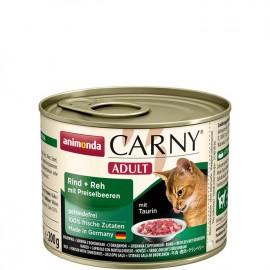 Carny Adult - с олениной и брусникой, 200г